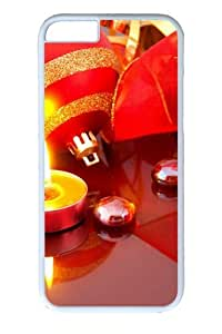 Christmas Light PC case Cover for iPhone 6 Plus and iPhone 6 Plus 5.5 inch White
