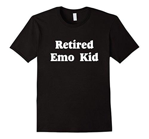 Mens Retired Emo Kid T-Shirt Funny Emo Shirts Small (Emo Kid T-shirt)