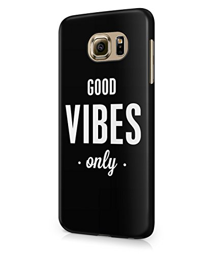Good Vibes Only Palm Trees California Summer Plastic Snap-On Case Cover Shell For Samsung Galaxy S6