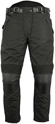 Texpeed Womens Black Motorcycle Trousers All Sizes Cordura Waterproof /& Armoured