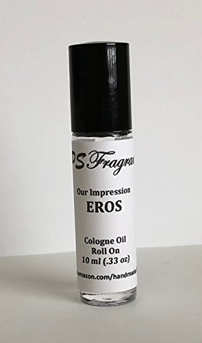 Versace Eros Impression by CPS Fragrances Men's Body Oil Roll On (10 - Versace Shop