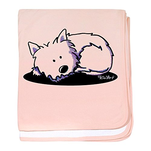 CafePress - Nap Time Westie - Baby Blanket, Super Soft Newborn Swaddle