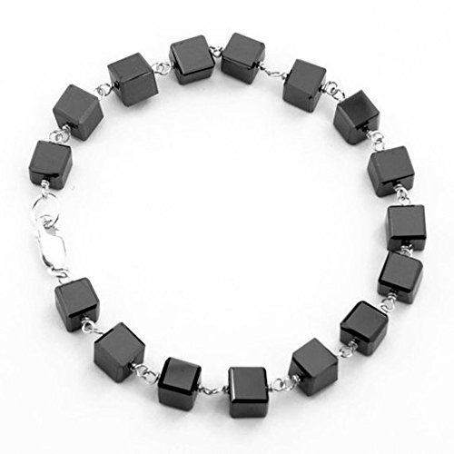 Barishh 47 cts Black Diamonds Handcrafted Bracelet.Beautiful. Certified by Barishh