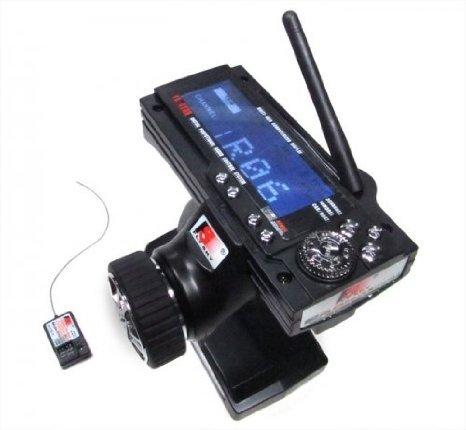 Fly Sky #GT3B-2.4G Flysky FS-GT3B Digital 3CH 2.4Ghz TX & RX LCD Transmitter & - Channel 3 Rc