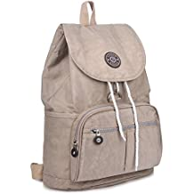 ZYSUN Fashion Travel High School Backpacks LightWeight Bag for College Girls Womens(604,nude)