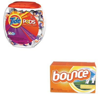 Procter And Gamble Bounce Fabric (KITPAG50978PAG80168CT - Value Kit - Procter amp; Gamble Professional Pods (PAG50978) and Bounce Fabric Softener Sheets (PAG80168CT))