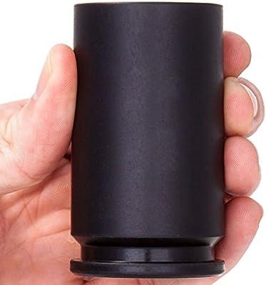 2 Monkey SH30-BK Black Spent 30mm A-10 Shell Shot Glass
