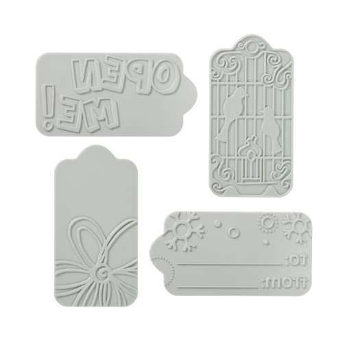 Fiskars Fuse Creativity System Tag Desing Plate Expansion Pack, Medium (100950-1001) Fiskars Fuse