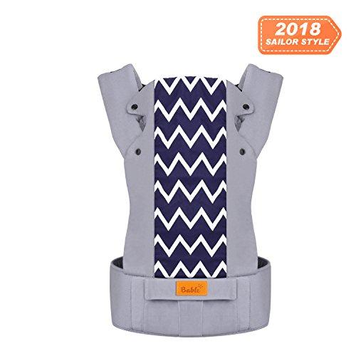 fd893a1f88a5 Bable Porte bébé ergonomique 3-en-1 porte bebe ventral physiologique à  l avant et à l arrière, sûrs, respirants et confortables en toute saison,  ...