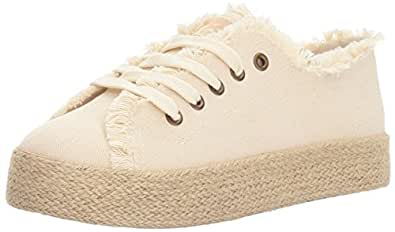 Rocket Dog Women's Madox Orchard Canvas Cotton Fashion Sneaker, Natural, 6 M US