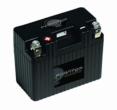 Phantom APP18A1-BS12 Black Small 12V 18Ah 'A' Polarity Case Type-1 Powersports Battery