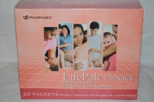 Pharmanex Lifepak Prenatal Dietary Supplement (60 Packets)