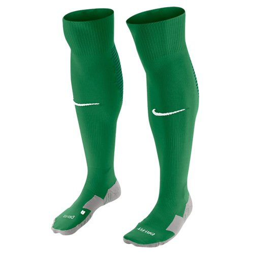 Nike Herren Stulpen Team Matchfit Core Over The Caff Pine Green/Dark Cypress/White