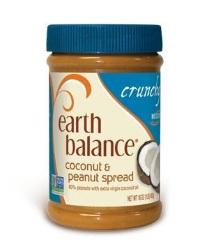 Earth Balance Crunchy Coconut & Peanut Spread (3x16oz) by Earth Balance (Earth Balance Baby Food)