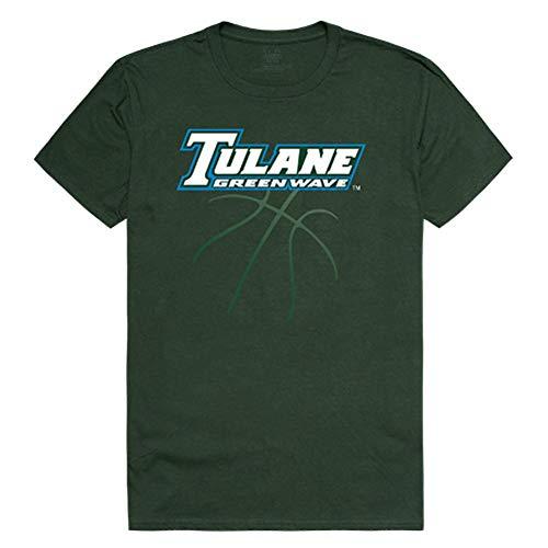 (Tulane University Green Wave NCAA Basketball Tee T-Shirt X-Large )