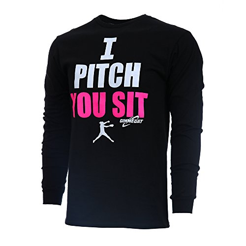 GIMMEDAT Pitch Sleeve Softball T Shirt product image