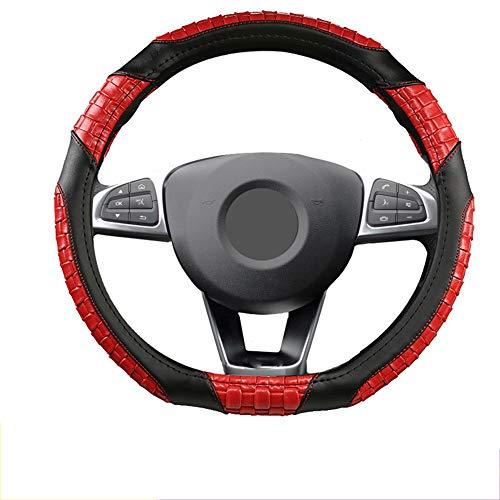 HCZSZH D-Shaped Anti-Skid Steering Wheel Cover Micro