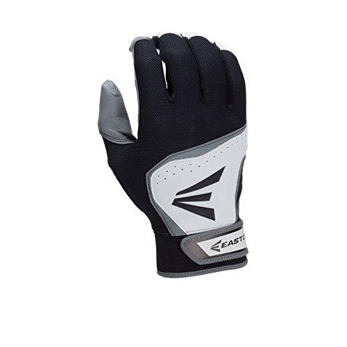 イーストンhs7バッティング手袋 B00LCXKMG6 Large ホワイト/ブラック ホワイト/ブラック Large