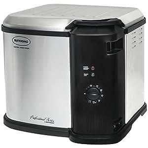 Masterbuilt 23011014 Butterball Indoor Gen III Electric Fryer Cooker Large Capacity