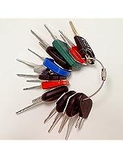 Heavy Equipment/Construction Ignition Key Set (18 Keys) Compatible with Volvo Komatsu Caterpillar Daewoo