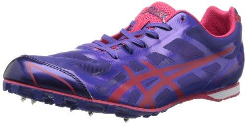 ASICS Women's Hyper-Rocketgirl 6 Track Shoe,Purple/Hot Punch,10 M US