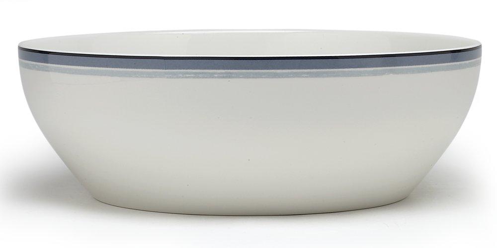 Noritake Java Graphite Swirl Round Vegetable Bowl, 9-3/4-inches, 96-ounces