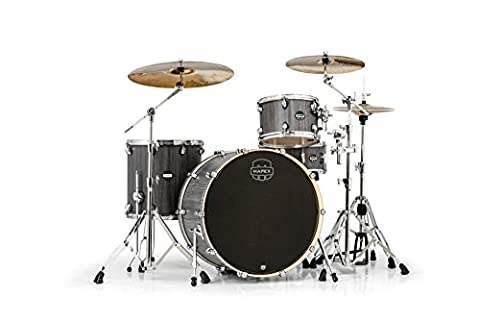 Mapex Mars Series 4-Piece Rock 24 Shell Pack Graywood (Mapex Saturn 7 Piece)