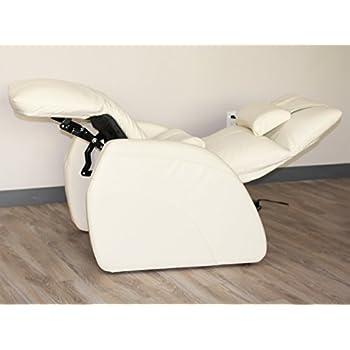 Cozzia Zero Gravity Recliner Chair In Ivory
