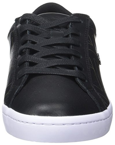 417 Lace Lacoste Straightset Blk Sneakers Low Caw WoMen Black Top 1 Epw6awtAq