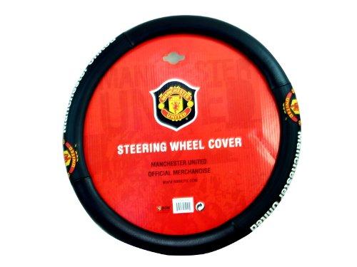 FC Manchester United Team Logo Steering Wheel Cover