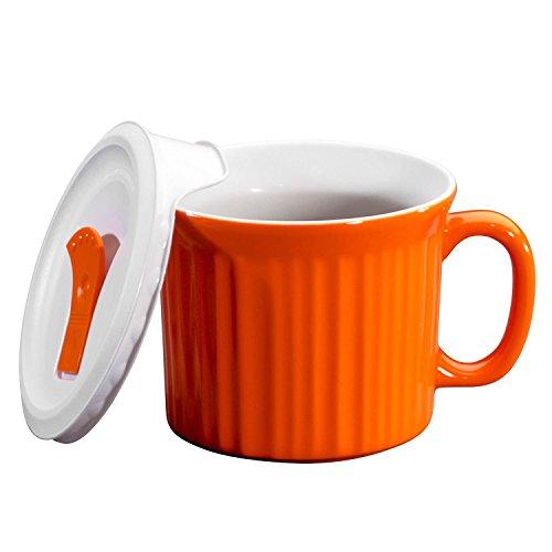 Corningware Halloween Pop-Ins Mugs, Orange