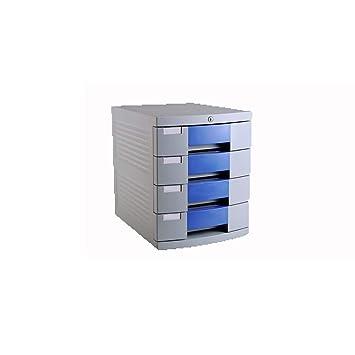Archivadores con espiral Armario para archivador de escritorio archivador de cajón archivador de plástico de cuatro