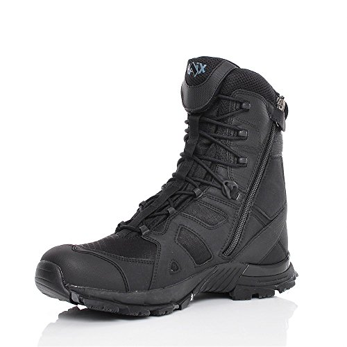 HAIX Herren Einsatzstiefel Black Eagle Athletic 11 High Black schwarz, UK 7.5 / EU 41