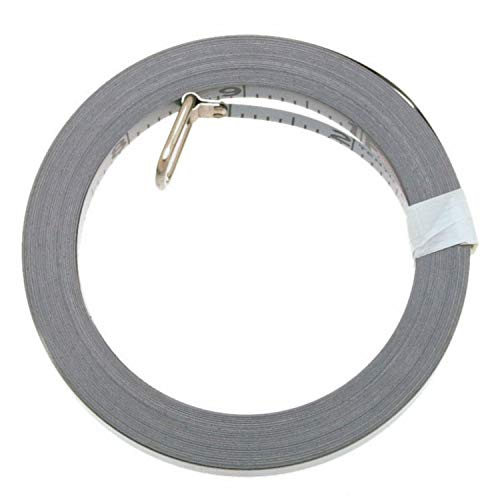 Lufkin OC213D 3/8-Inch x 50-Foot Engineer-Foot Anchor Chrome Clad Tape Refill