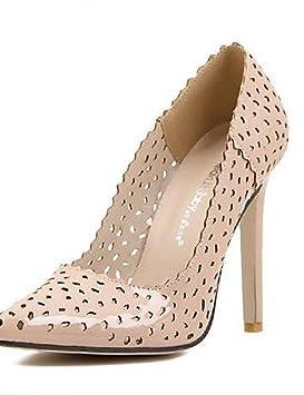 fdb3e41f6953da Chaussures Femme - Habillé - Noir / Beige - Talon Aiguille - Talons / Bout  Pointu