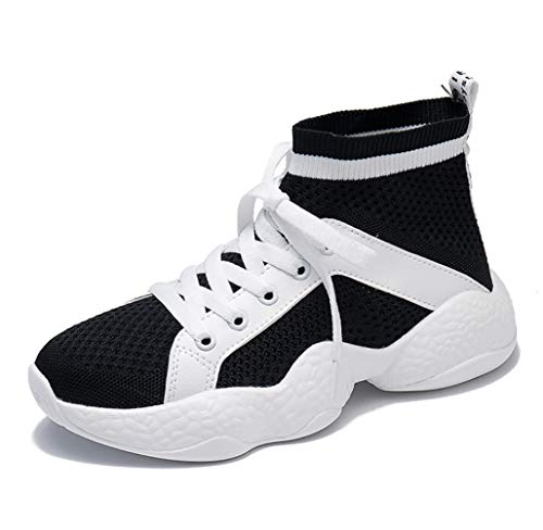 Mesh Hip Outdoor hop NANXIE Harajuku Boots Students Female Korean Hiking Women's High Black Laces Ankle Shoes Sports Women's Shoes top Shoes wFFIqTUS