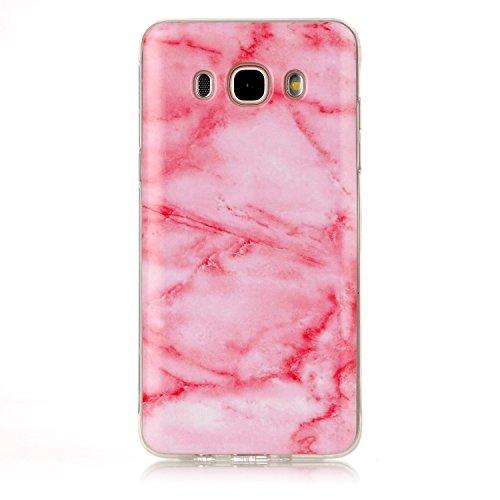 JIALUN-Personality teléfono shell Para Samsung Galaxy J710 J7 2016 IMD híbrido brillante TPU cubierta de la caja protectora de silicona suave de silicona para Samsung Galaxy J710 J7 2016 Seguridad y M 6