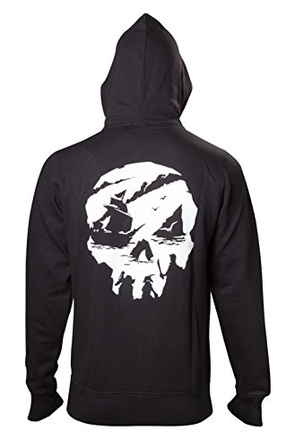 Sweatshirt Sea Logo Hoodie Thieves Skull Black Of ECn7qCUwz