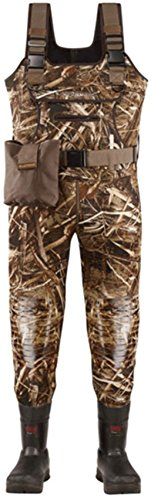 5 Wader Fleece Mm (Lacrosse Swamp Tuff Pro 1000G Insulated Wader - Men's Realtree Max 5 13 M)