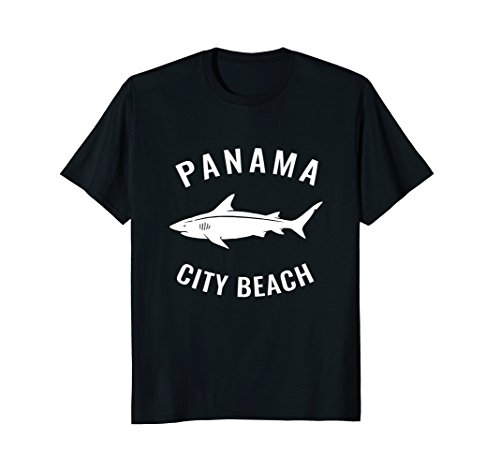 Panama City Beach T Shirt FL Shark Summer Tee