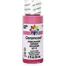 Plaid Delta Ceramcoat Acrylic Paint, 2 oz, Pomegranate