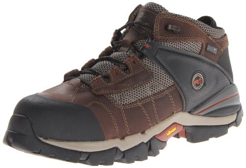 Timberland Pro Men's Hyperion 4 Inch Alloy Toe Work Boot,brown Distressed Leatherfabric,7 M Us