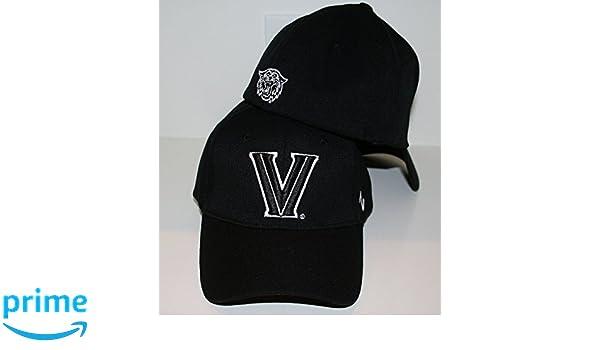 dddc08ba738 Amazon.com   Zephyr Villanova Wildcats Black DH Fitted Hat Size  Medium Large   Sports   Outdoors