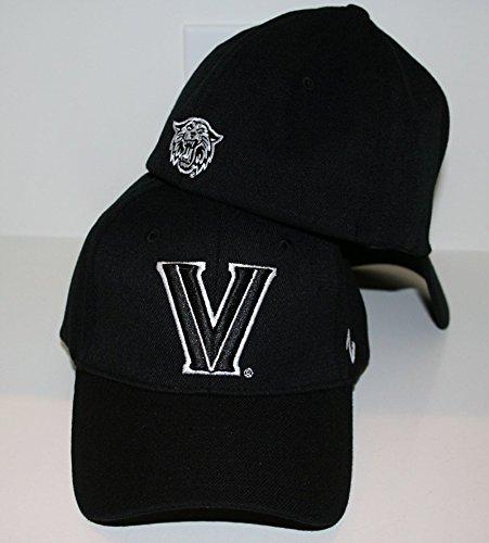 Villanova Wildcats Fitted Hats. Zephyr Villanova Wildcats Black DH Fitted  Hat ... f8f1c071a8aa