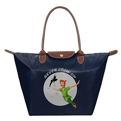 [BigDay Peter Pan Cartoon Movie Poster Cool Visor Dumpling Shape Reusable Tote Bag Diaper Bag] (Peter Pan Cast Costumes)