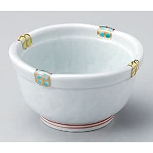 Small Bowl utw89-1-694 [4.2 x 2.4 inch] Japanece Ceramic Fuchinishiki Kagome with in Tableware