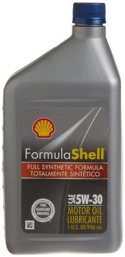 Formula Shell Full Synthetic 5W-30 Motor Oil (1 Quart, Case of 6) (Best Synthetic Oil For 6.0 Powerstroke)