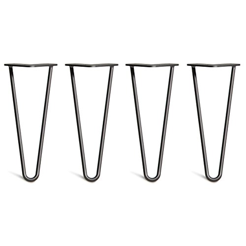 4 x Hairpin Table Legs – Superior Double Weld Steel...