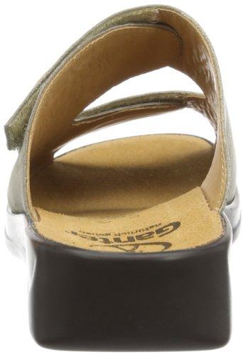 Ganter Monica Weite G 7-202500-68690 - Zuecos de cuero para mujer, color varios colores, talla 36 Varios colores (Mehrfarbig (stone/smoke 6869))