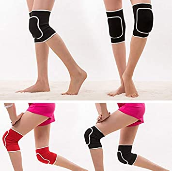 Yichener - 1 par de Rodilleras para Mujer, Esponja, Yoga ...